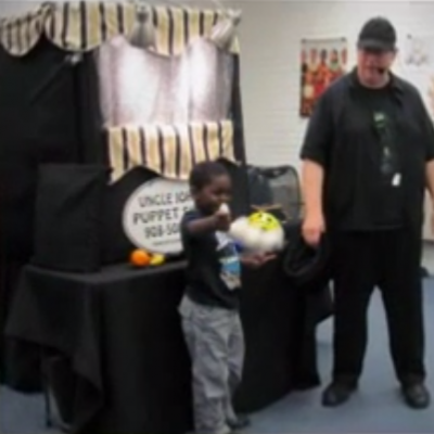 Uncle John's Puppet Show at the Hillside Public Library